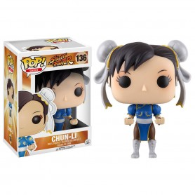 Street Fighter POP! Games Vinyl Figura Chun-Li 9 cm 136