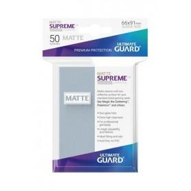 Ultimate Guard Supreme UX Sleeves Fundas de Cartas Tamaño Estándar Transparente Mate (50)