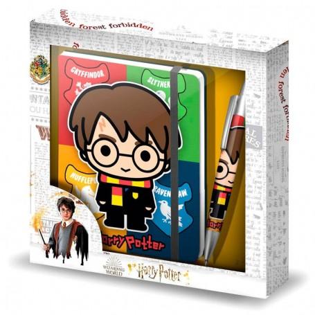 Diario + boligrafo Wizard Harry Potter