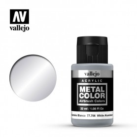 Aluminio Blanco Metal Color 77.706
