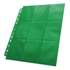 Ultimate Guard 18-Pocket Pages Side-Loading Verde