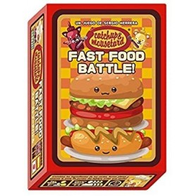Catchup & Mousetard - Fast Food Battle! - Juego de mesa Mixin Games