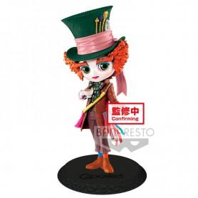 Figura Sombrerero Loco Alicia en el Pais de las Maravillas Disney Q Posket ver. A 14cm