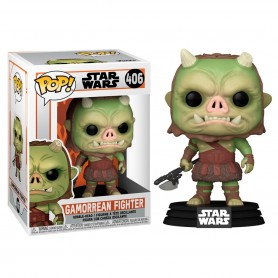 Figura POP Star Wars The Mandalorian Gamorrean Fighter 9cm 406