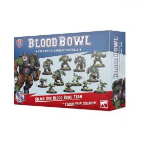 Equipo Black Orc de Blodd Bowl: Los Thunder Valley Greenskins