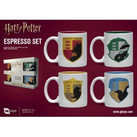 Harry Potter Pack de 4 Tazas Espresso House Pride