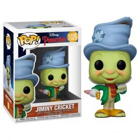 Pinocchio 80th Anniversary POP! Disney Vinyl Figura Street Jiminy / Pepito Grillo  9 cm 1026