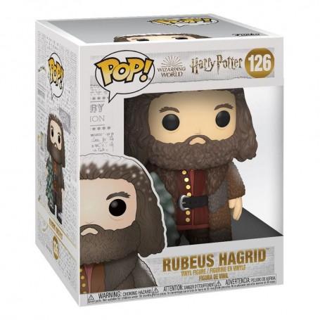 Harry Potter Figura Super Sized POP! Vinyl Holiday Rubeus Hagrid 15 cm 126