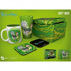 Caja regalo Portal Rick and Morty