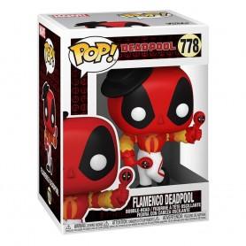 Marvel Deadpool 30th Anniversary Figura POP! Vinyl Flamenco Deadpool 9 cm 778