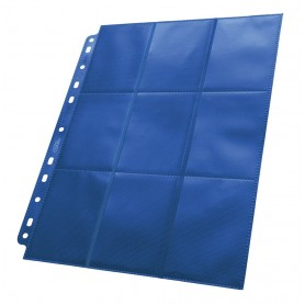 Ultimate Guard 18-Pocket Pages Side-Loading Azul