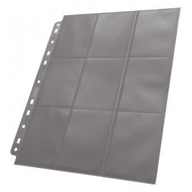 Ultimate Guard 18-Pocket Pages Side-Loading Gris