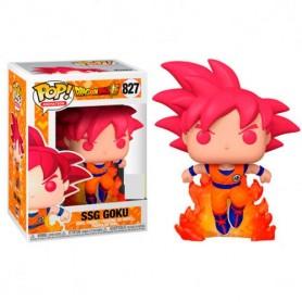 Figura POP Dragon Ball Super - Super Saiyan God Goku Exclusive 9cm 827