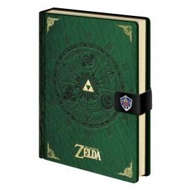 Legend of Zelda Libreta A5 Triforce New Version