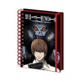Death Note Libreta A5 Wiro Shadow