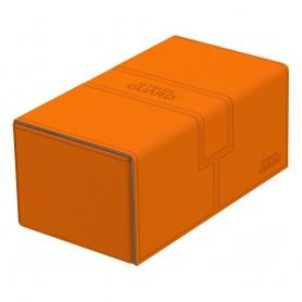 Ultimate Guard Twin Flip´n´Tray Deck Case 200+ Tamaño Estándar XenoSkin Naranja