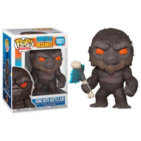 Godzilla Vs Kong Figura POP! Movies Vinyl King Kong with Axe 9 cm 1021