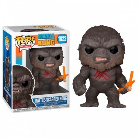 Godzilla Vs Kong Figura POP! Movies Vinyl Battle Worn Kong 9 cm
