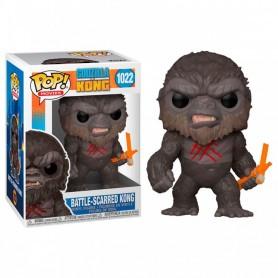 Godzilla Vs Kong Figura POP! Movies Vinyl Battle Worn Kong 9 cm