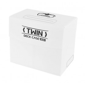 Ultimate Guard Twin Deck Case 160+ Caja de Cartas Tamaño Estándar Blanco