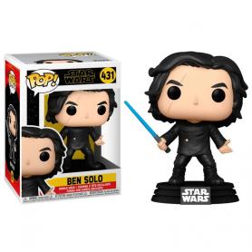 Star Wars Episode IX POP! Movies Vinyl Figura Ben Solo w/Blue Saber 9 cm 431