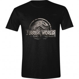 Jurassic World Camiseta Damaged Logo talla S