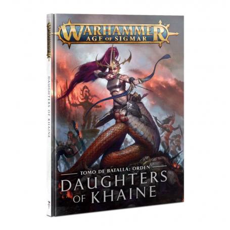 Tomo de batalla: Daughters of Khaine (Español)