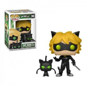 Figura Funko Pop! Cat Noir & Plagg 360