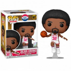 NBA Legends POP! Sports Vinyl Figura Julius Erving (Nets Home) 9 cm 107