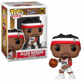 NBA Legends POP! Sports Vinyl Figura Allen Iverson (Sixers Home) 9 cm