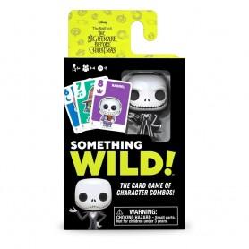 Pesadilla antes de Navidad Caja de 4 Juegos de Cartas Something Wild! Edición DE/ES/IT