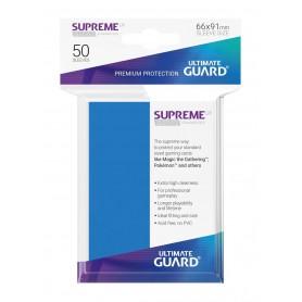 Ultimate Guard Supreme UX Sleeves Fundas de Cartas Tamaño Estándar Azul Real (50)