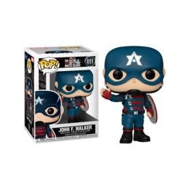 The Falcon and the Winter Soldier Figura POP! Vinyl Captain America 9 cm 811