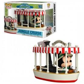 Jungle Cruise POP! Rides Vinyl Figura Skipper Mickey w/Boat 15 cm 103