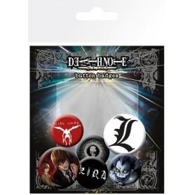 Death Note Pack 6 Chapas Mix