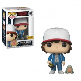 Stranger Things POP! TV Vinyl Figura Dustin 9 cm 593