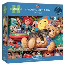 Durmiendo con Ted 250 piezas XL