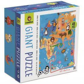 GIANT PUZZLE - El mapa de los animales