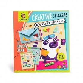 Creative stickers - Happy Animals