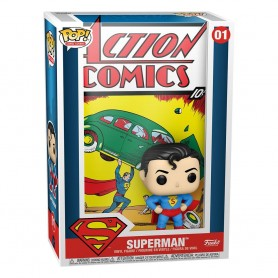 DC Comics POP! Comic Cover Vinyl Figura Superman Action Comic 9 cm 01