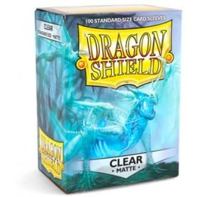 FUNDAS STANDARD DRAGON SHIELD CLEAR - PAQUETE DE 100