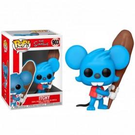 Los Simpson Figura POP! Animation Vinyl Itchy 9 cm Pica 903