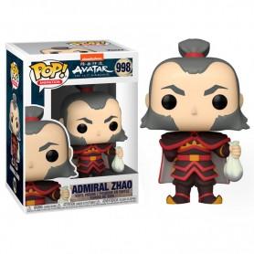 Avatar: la leyenda de Aang Figura POP! Animation Vinyl Admiral Zhao 9 cm 998
