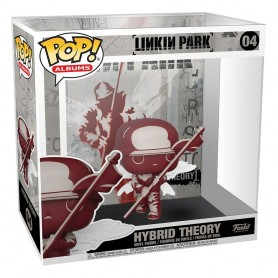 Linkin Park POP! Albums Vinyl Figura Hybrid Theory 9 cm