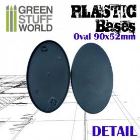 Peanas de Plástico - Ovaladas 90x52mm AOS