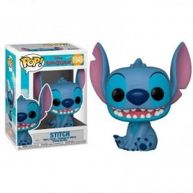 Lilo & Stitch POP! Disney Vinyl Figura Smiling Seated Stitch 9 cm 1045