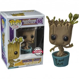 Figura POP Marvel Guardians of the Galaxy Dancing I Am Groot Exclusive