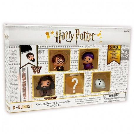 Pack 5 figuras K-Blings Harry Potter