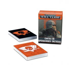Warhammer 40,000 Kill Team: Cartas de operaciones tácticas