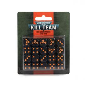 Kill Team: Juego de dados de Komandos Orkos